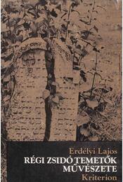 Régi zsidó temetők művészete - Régikönyvek