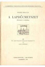 A lapdúcmetszet - Régikönyvek