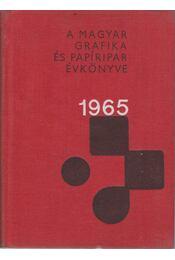 A Magyar Grafika és Papíripar Évkönyve 1965 - Régikönyvek