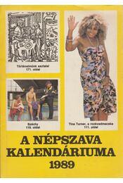 A Népszava kalendáriuma 1989 - Régikönyvek