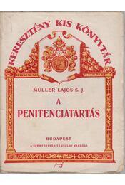 A penitenciatartás - Régikönyvek