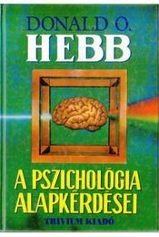 A pszichológia alapkérdései - Régikönyvek