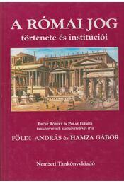 A római jog története és institúciói - Régikönyvek