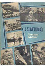 A Szovjetunióról - Régikönyvek