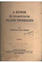 A kémek és szabotálók elleni védekezés (dedikált) - Régikönyvek