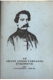 Az Arany János Társaság Évkönyve XIX. - Régikönyvek