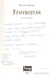 Fénybojtár (dedikált) - Régikönyvek