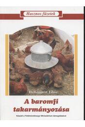 A baromfi takarmányozása - Régikönyvek
