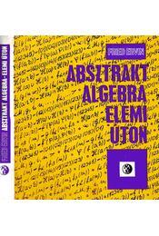 Absztrakt algebra - elemi úton - Régikönyvek