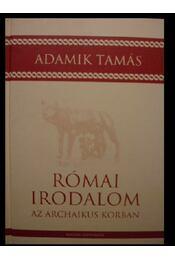 Római irodalom az archaikus korban - Régikönyvek