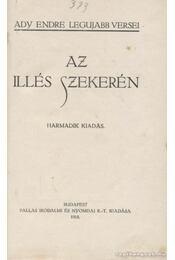 Az Illés szekerén - Ady Endre - Régikönyvek