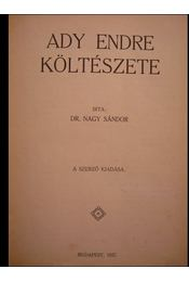 Ady Endre költészete - Régikönyvek