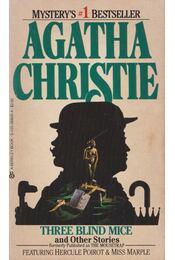 Three Blind Mice and Other Stories - Agatha Christie - Régikönyvek