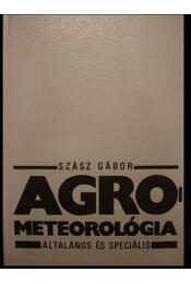 Agrometeorológia - Régikönyvek