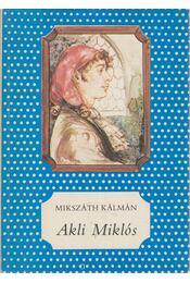 Akli Miklós - Régikönyvek