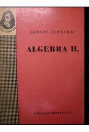 Algebra II. - Régikönyvek