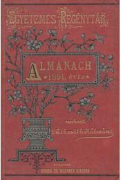 Almanach az 1891. évre - Régikönyvek