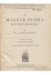 A magyar flóra kis határozója - Régikönyvek