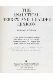 The analytical hebrew and chaldee lexicon - Régikönyvek