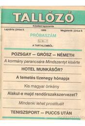 Reform Tallózó 1989. I. évfolyam (teljes) - Andai György - Régikönyvek