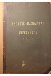 Supplement zur zweiten und ersten Auflage von Andrees Handatlas - Régikönyvek