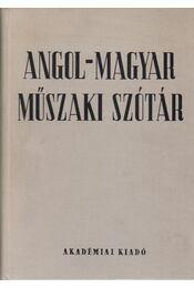 Angol-magyar műszaki szótár - Régikönyvek