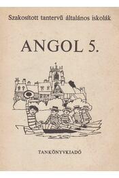 Angol 5. - Régikönyvek