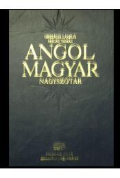 Angol-Magyar nagyszótár - Régikönyvek