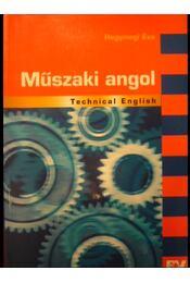 Műszaki angol - Régikönyvek