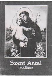 Szent Antal imafüzet - Régikönyvek