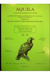 Aquila 1986-1987 - Régikönyvek