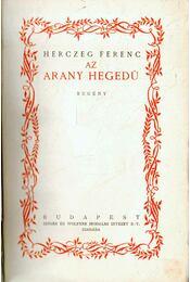 Az arany hegedű - Régikönyvek