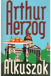 Alkuszok - Arthur Herzog - Régikönyvek