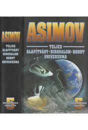 Isaac Asimov teljes Alapítvány-Birodalom-Robot univerzuma V. - Régikönyvek