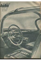 Autó-motor 1957. X. évfolyam - Régikönyvek
