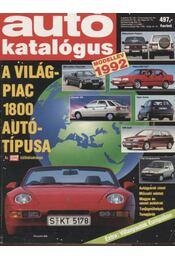 Autó katalógus 1992 modellév - Régikönyvek