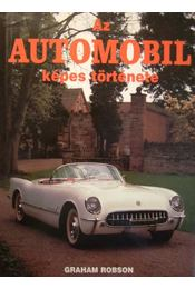 Az automobil képes története - Régikönyvek