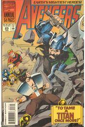 The Avengers Annual Vol. 1. No. 23 - Thomas, Roy, Milgrom, Al, Buscema, John - Régikönyvek