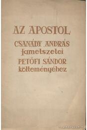 Az apostol - Csanády András - Régikönyvek