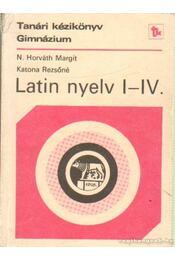Latin nyelv I-IV. - Régikönyvek