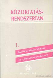 Közoktatásrendszertan 1. - Régikönyvek