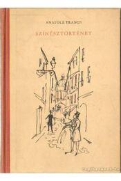 Színésztörténet - Régikönyvek
