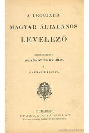 A legújabb magyar általános levelező - Régikönyvek