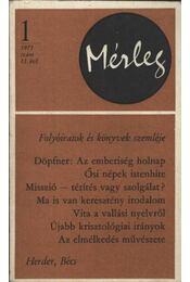 Mérleg 1975/1. sz. - Régikönyvek
