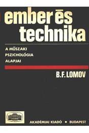 Ember és technika - Régikönyvek
