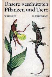 Védett növényeink és állataink (Unsere geschützten Pflanzen und Tiere) - Régikönyvek