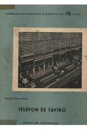 Telefon és távíró - Régikönyvek