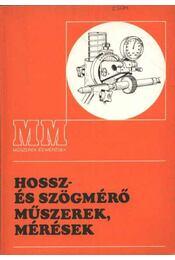 Hossz- és szögmérő műszerek, mérések - Régikönyvek