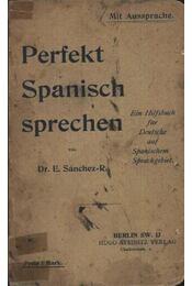 Perfekt spanisch sprechen - Régikönyvek