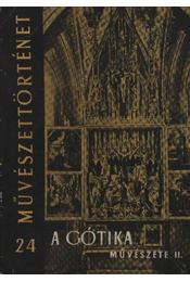 A gótika művészete II. - Régikönyvek
